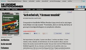 2012 De Groene Amsterdammer